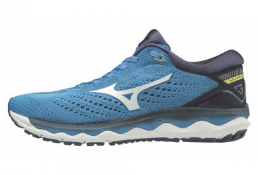 Zapatillas Mizuno Wave Sky 3 para Hombre Azul / Negro