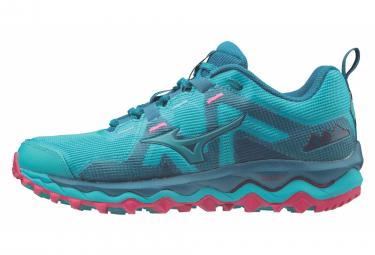 Zapatillas Mizuno Wave Mujin 6 para Mujer Azul / Rosa