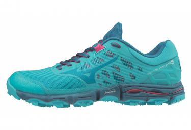 Zapatillas Mizuno Wave Hayate 5 para Mujer Azul