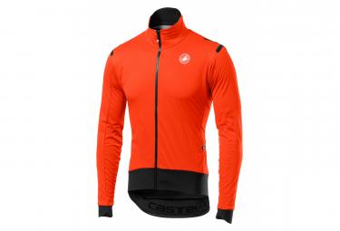 Wind Jacket Castelli ALPHA ROS Orange / Black