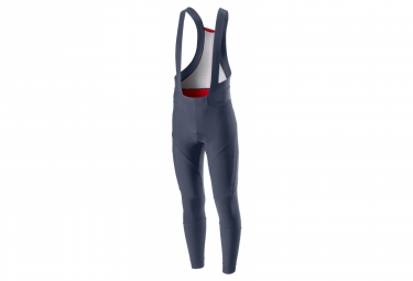 Long Castelli Sorpasso 2 Blue Bib Shorts