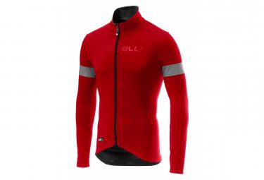 Castelli Long Sleeve Jersey NEL MEZZO Red / Black