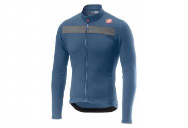 Castelli PURO 3 Long Sleeve Jersey Blue