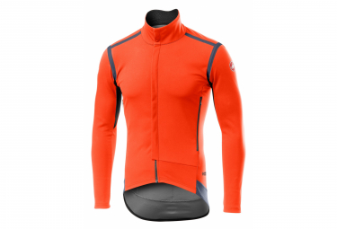 Castelli Perfetto RoS Orange Jacket