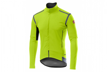 Removable Jacket Castelli PERFETTO RoS Yellow Fluo