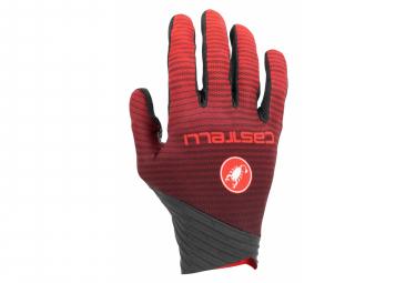 Paar Handschuhe Castelli CW.6.1 CROSS Red