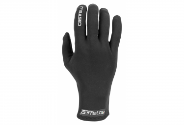 Paar Castelli PERFETTO Damenhandschuhe Schwarz