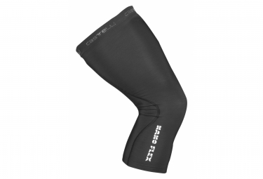 Pair of Knee Res Castelli NANOFLEX Black