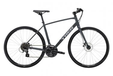 Vélo de Ville Fitness Trek FX 1 Disc Shimano Altus 7V Gris 2020