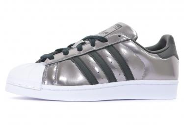 meilleur service dfc00 e06ee Superstar Baskets femme Adidas gris m?tallis? noir