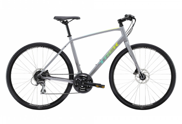 Trek FX 2 Disc City Bike 700mm Gris