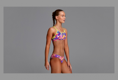 Image of Funkita fille bee bop racer back 2 pieces 14 15 ans