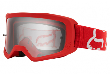 Fox Youth II Red Goggle Hand Race Mask