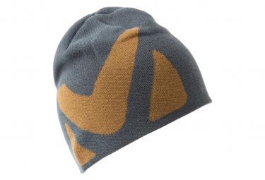 Millet Logo Beanie Grey Brown