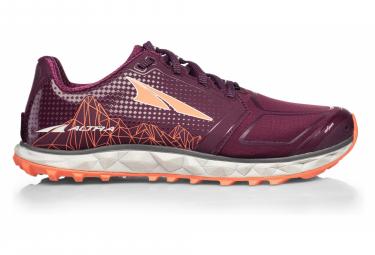 Zapatillas Altra Superior 4 para Mujer Púrpura