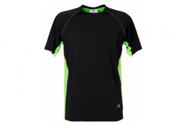T Shirt Respirant LHOSTE 8516 Lago Noir Vert
