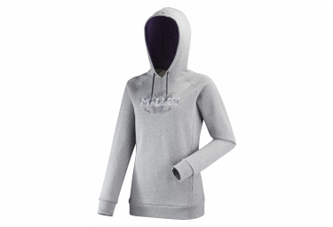 Millet Luhti Sweat Hoodie Grey Women L