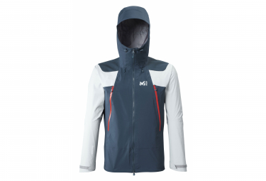 Millet K Absolute GTX 3L Jacket Blue Grey