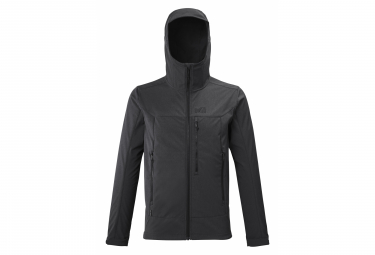 Millet Track Hoodie Softshell Jacket Grey Xxl