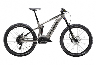 MTB Electric Full Suspension MTB Trek Powerfly LT 4 G2 Shimano Deore 10s Gray 2020