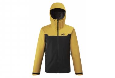 Millet Kamet Light GTX Waterproof jacket Black Yellow