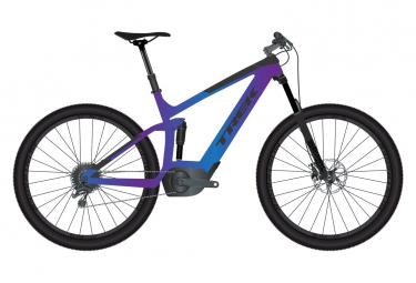VTT tout-suspendu 27.5'' Trek Powerfly FS 5 G2 Shimano Deore 10V Violet 2020