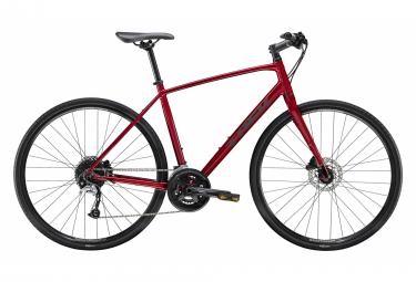 Trek FX3 City Bike 700mm Rouge