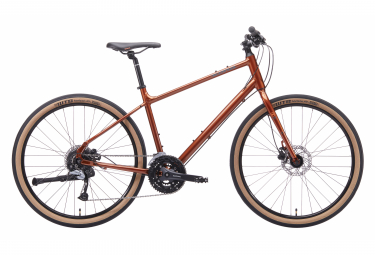 Kona Dew Plus City Bike 27.5'' Orange