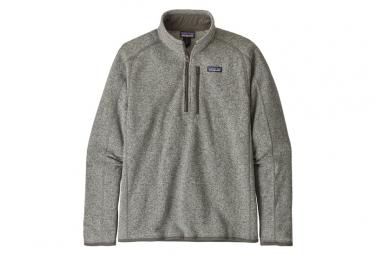 Patagonia Better Sweater 1 4 Zip Stonewash Grey S