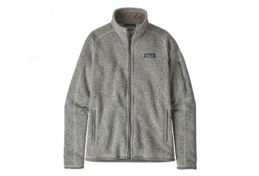 Patagonia Women Better Sweater Jacket Birch White S