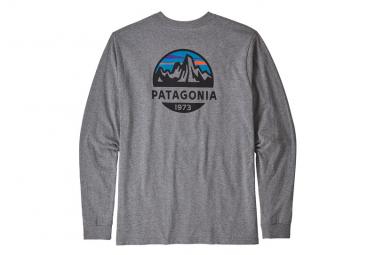 Patagonia Responsibili-Tee Long Sleeves Gravel Heather