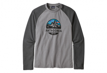 Patagonia Fitz Roy Scope Crew Sweatshirt Feather Grey
