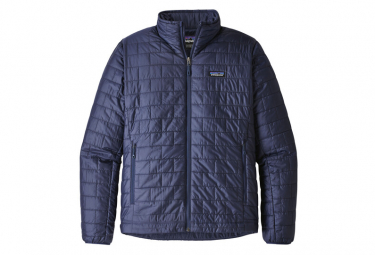 Patagonia Men Nano Puff Jacket Classic Navy L