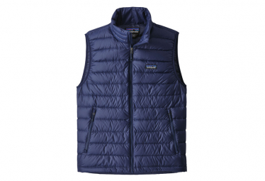 Patagonia Down Sweater Vest Classic Blue