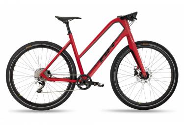Vélo de Ville Fitness BH Silvertip Jet Shimano Deore XT 10V Rouge / Noir 2020