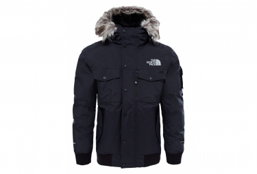 The North Face Gotham Waterproof Windbreaker Parka Black Grey