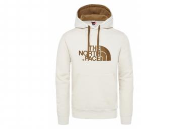 The North Face Drew Peak Hoodie Sweat White Khaki