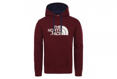 The North Face Drew Peak Hoodie Sweat Dark Red