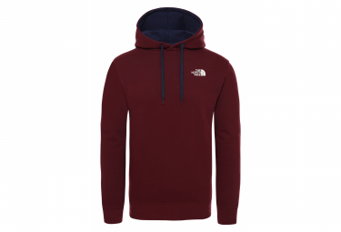 The North Face Seasonal Drew Peak Hoodie Sweat Dark Red