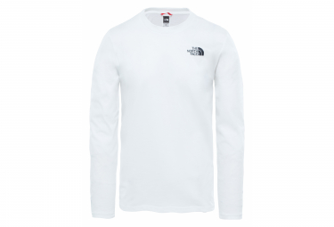 The North Face Easy Long Sleeve T-Shirt White