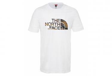 The North Face Easy T-Shirt White Khaki Camo