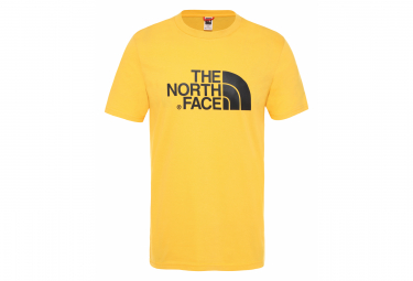 The North Face Easy T-Shirt Yellow Black