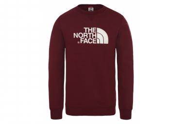The North Face Drew Peak Crew Sweat Dark Red