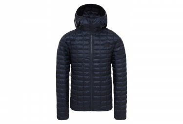 The North Face Thermoball Eco Hoodie Down Jacket Navy Blue Matte