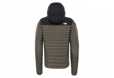 Image of Doudoune a capuche the north face stretch down hoodie kaki noir l