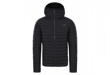 The North Face Stretch Down Hoodie Down Jacket Black
