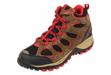 Image of Boys hilltop ventilator mid bwr chaussures randonnee garcon merrell 32