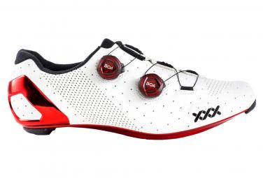 Bontrager XXX LTD Rennradschuhe Weiß Rot Chrom