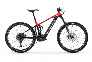 Mondraker Electric Full Suspension Bike Crafty R Sram SX 12s Black / Red 2020