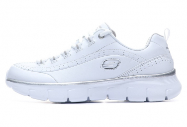Image of Baskets blanc femme skechers synergie 3 0 37